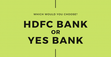 HDFC Bank or Yes Bank