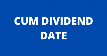 Cum Dividend Date