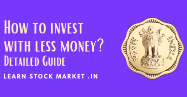 How to invest with less money