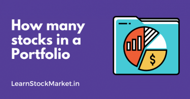 How many number of stocks in a portfolio? 1