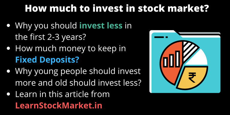 How much to invest in stock market
