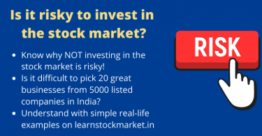 Is stock market risky