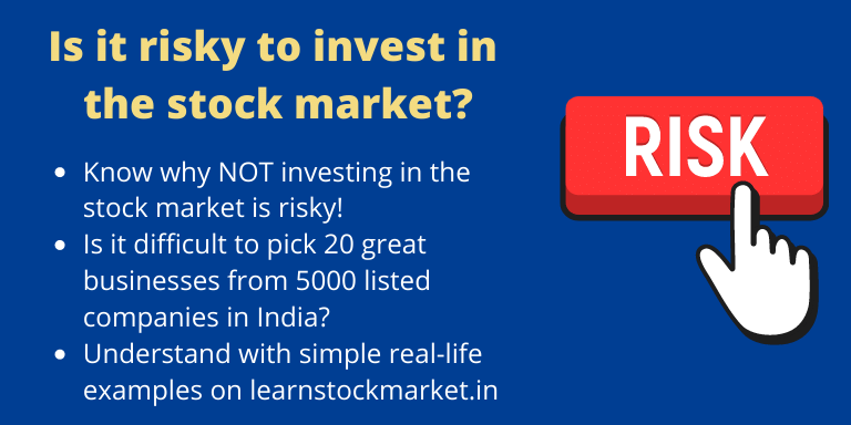 Is stock market risky?