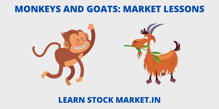 Stock Market Lessons - Monkeys and Goats